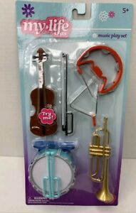 for 18 in Dolls Violin Drum Trumpet Tambourine My Life As Music Play Set
