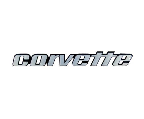 C3 Corvette 1976L-1979 Rear Bumper Emblem Metal Sign 18x3