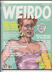 Weirdo-18-1986-Robert-Crumb-underground-comix-MBX90