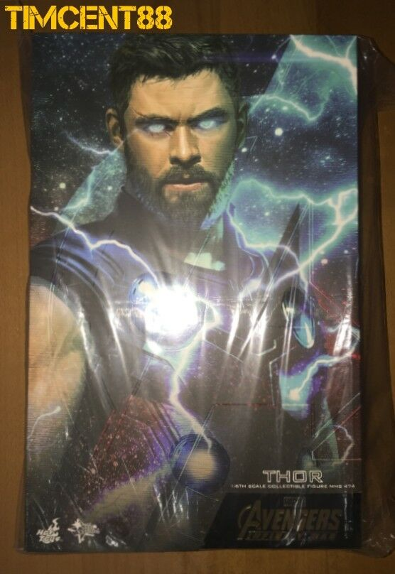 Ready  caliente giocattoli MMS474 Avengers  Infinity War 16 Thor Chris Hemsworth cifra