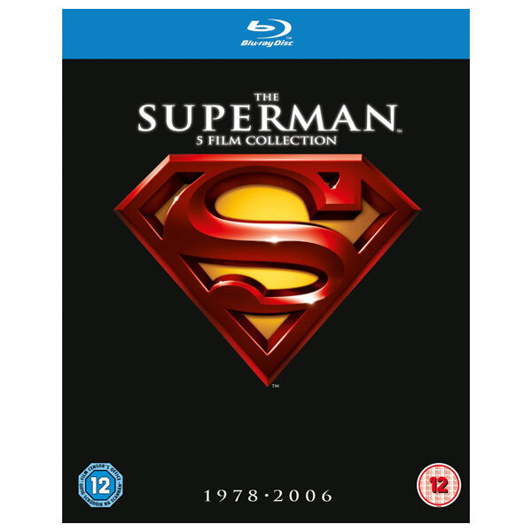THE SUPERMAN 5 FILM COLLECTION 1978-2006 BLU-RAY DISC SET REGION-FREE BRAND NEW