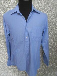 180-009-HUGO-BOSS-Hemd-KW-41-L-blau-mittelblau-Langarm-Button-Down-Kragen