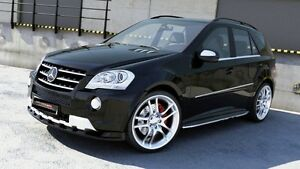 Spoilerlippe Frontspoiler Spoiler Diffusor für Mercedes ML W164 AMG Bj 08-11