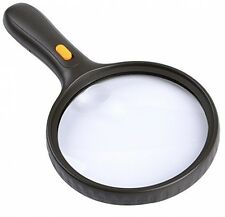 5.5 Inch Extra Large LED Handheld Scientific Magnifying Glass and Light,XYK 2X