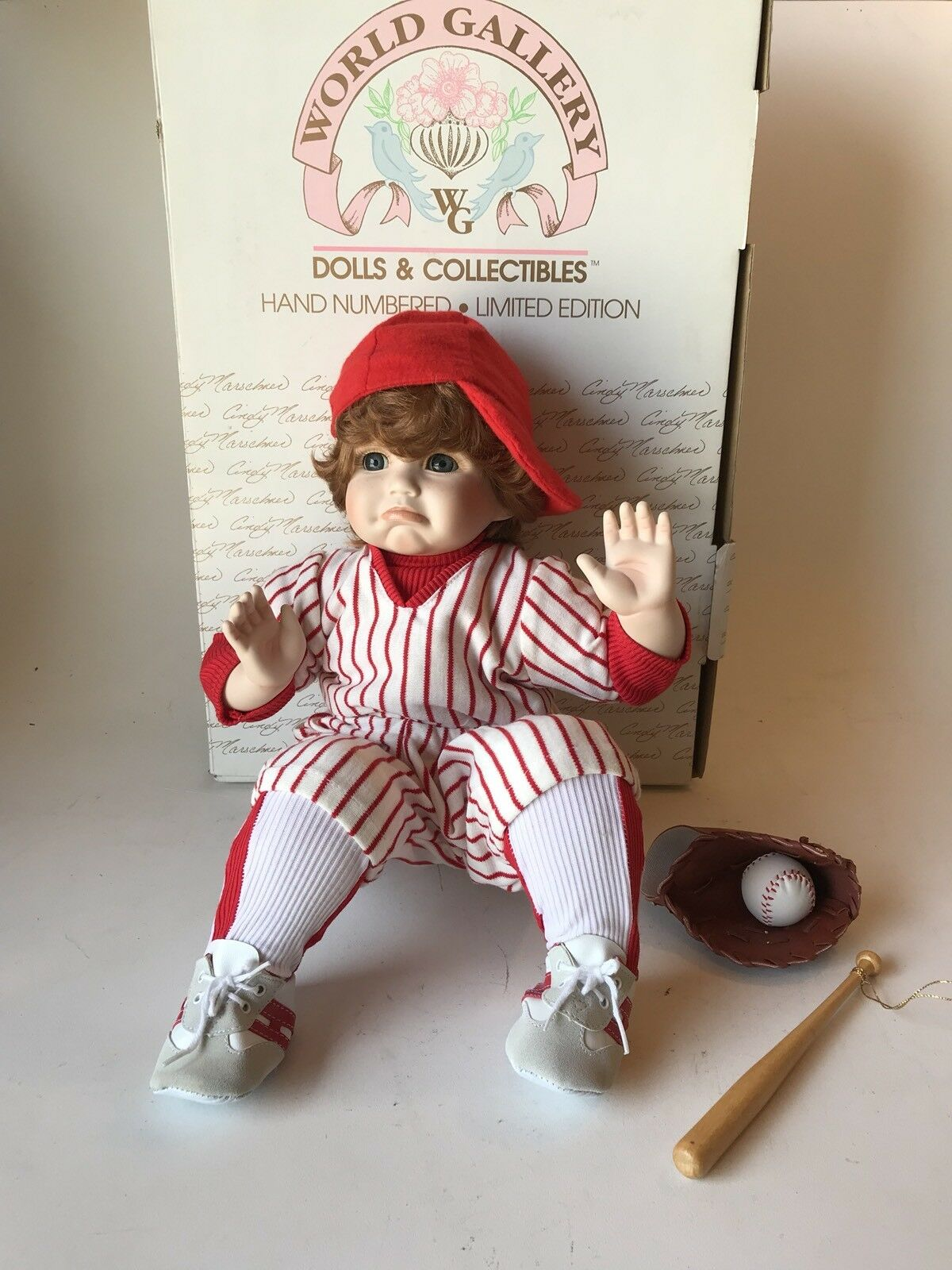 LIMITED BILLY POUTY FACE CINDY MARSCHNER WORLD GALLERY DOLL ~ Shop 1