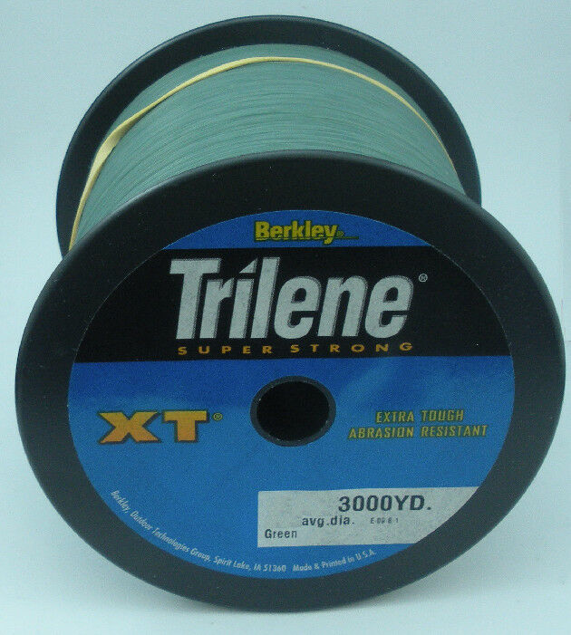 Berkley 1003397 XT3014-22  14 Libras Trilene Xt línea Mono 3000yd Lowvis verde 10654  marcas de moda