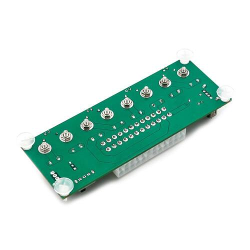 20//24Pin ATX Benchtop Board Computer PC Power Supply Breakout Adapter Module