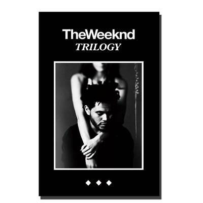 N63 The Weeknd Trilogy Music RAP silk fabric Poster print custom picture gift
