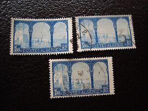 ARGELIA-sello-yvert-y-tellier-n-83-x3-matasellados-A29-stamp-algeria-A