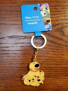 Loungefly Disney Pixar Up DOUG dog family KEYCHAIN NEW