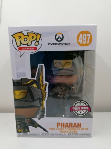 Vinyl #497 Pharah Anubis Exclusive special edition Overwatch Funko POP