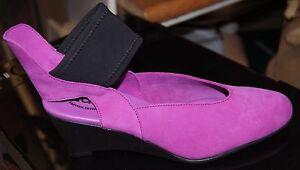 Chaussure Arche rose Herab talon compensé noir à t0wZq0rRH
