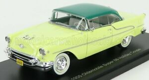 ESVAL MODEL 1/43 OLDSMOBILE | SUPER 88 HOLIDAY COUPE 1955 | YELLOW DARK GREEN