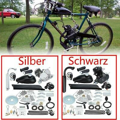 80cc 2-Takt Motorisierte Gas Moteur Fahrrad Benzin Hilfsmotor Bike Engine Kit