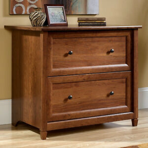 Cherry-Mission-Craftsman-Shaker-Lateral-File-Filing-Cabinet-New-Made-in-USA