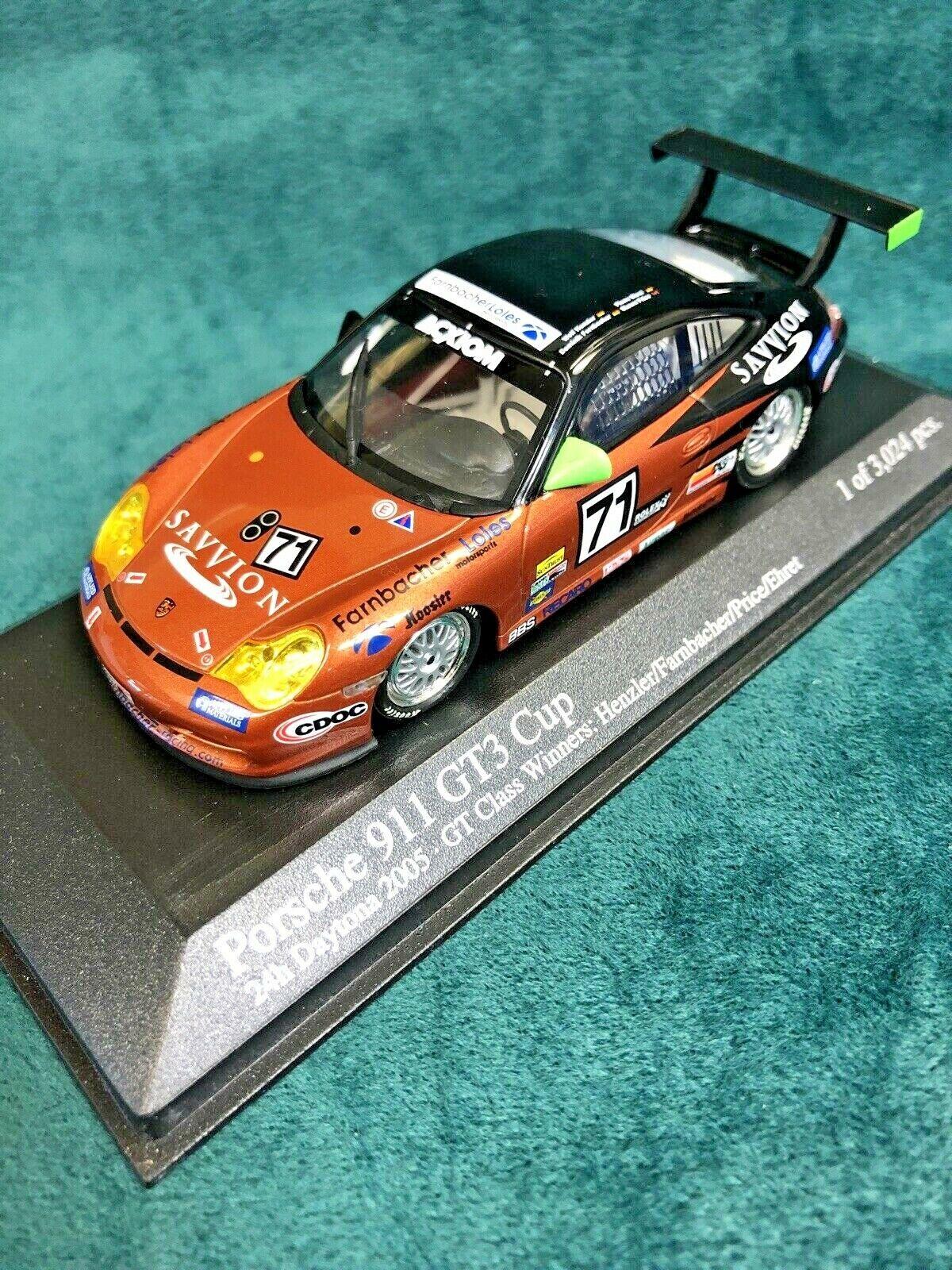 Minichamps Porsche 911/GT3/Matos/ /Miniature Daytona 05 400056237