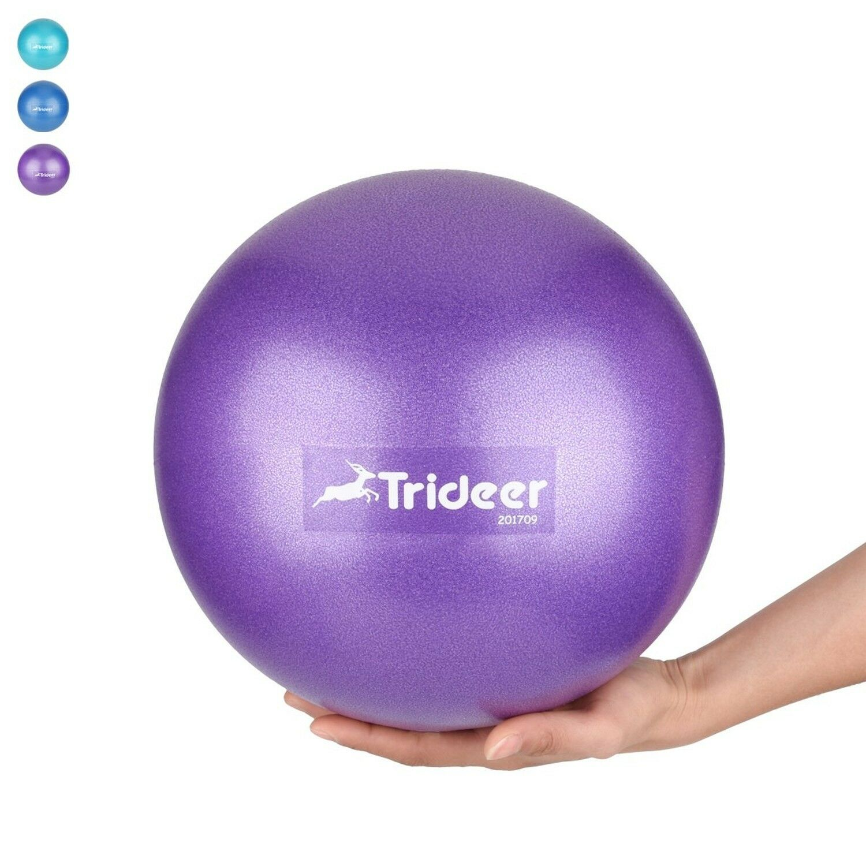 Trideer Yoga Balle Balle Balle 25cm& Ballon d'Exercice Fauteuil 65 cm & 75 cm stabilité balle avec R.... ffa76c