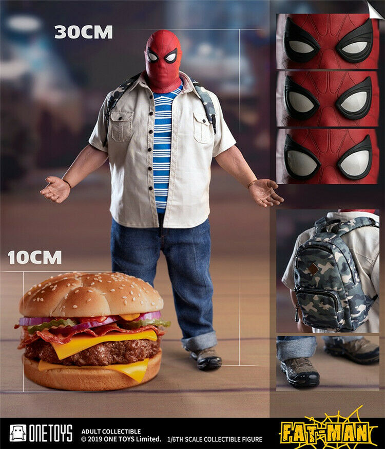 1 6 Scale One Toys OT007 Fat Fat Fat Man Spiderman Male Action Figure Collectible 55bac0