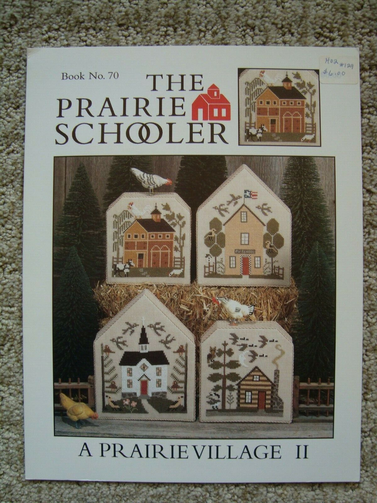 41 counted cross stitch patterns Original Book The Prairie Schooler Still Life Book No