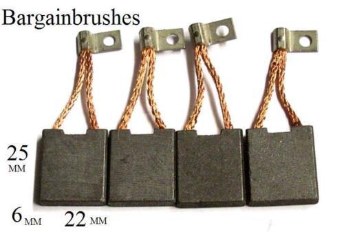 24V 500W 0136401006 D90 CARBON BRUSHES FORKLIFT SET OF 4 6X22X25 mm BOSCH KND R