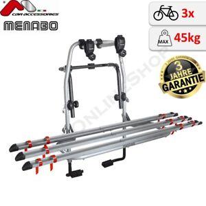 menabo steel bike 3 fahrradtr ger f heckklappe heckklappentr ger 3 r der t v gs ebay. Black Bedroom Furniture Sets. Home Design Ideas