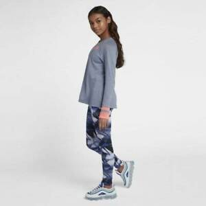 Nike-Girls-Print-Leggings-Twilight-Pulse-Lava-Glow-Large
