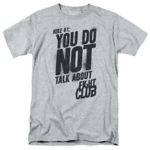 Fight-Club-Movie-Rule-1-Licensed-Adult-T-Shirt