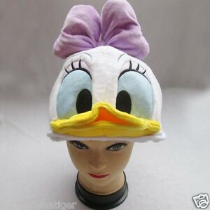 New Disney Daisy Duck Costume Hat Cap Plush Cosplay | eBay