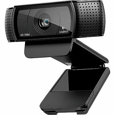 Logitech HD Pro Webcam C920, schwarz