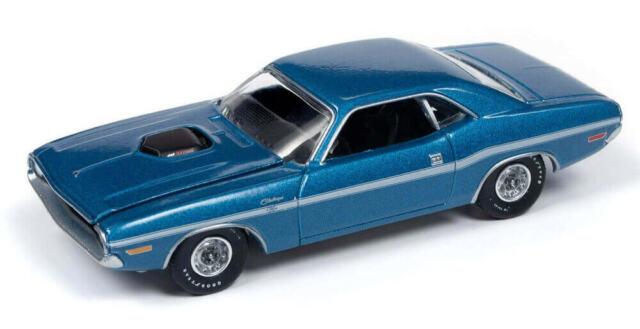Blue Dodge Challenger >> Auto World 2019 Vintage Muscle 1970 Dodge Challenger R T Blue R3 Vb