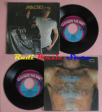 LP 45 7'' MACHO I'm a man Cose there's music in the air 1978 italy cd mc dvd *
