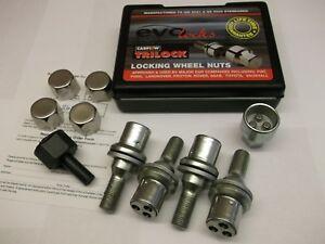 Locking-Wheel-Nuts-Fit-Peugeot-206-207-208-308-407-508-1007-3008-5008-PE1008