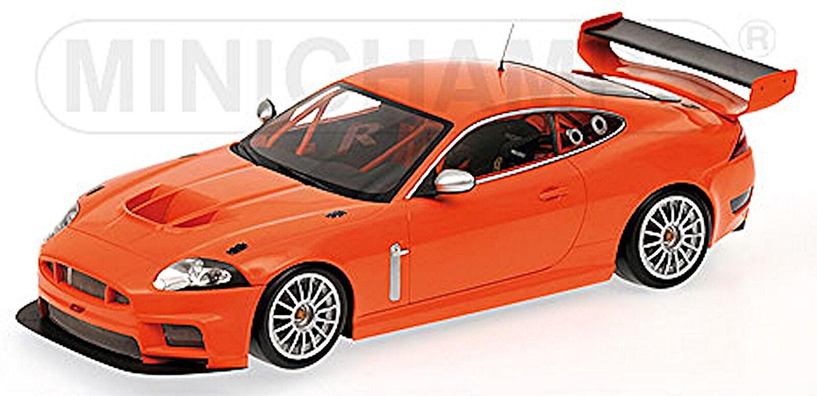 Jaguar XKR GT3 2008 Orange 1 18 Minichamps  | Exzellente Verarbeitung
