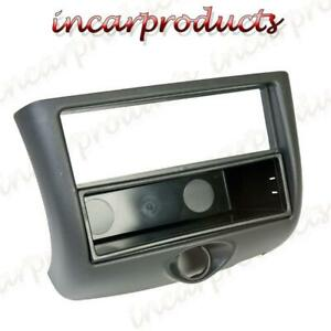 Single-DIN-Negro-Fascia-Facia-Para-Toyota-Yaris-Auto-CD-Estereo-Radio-Adaptador