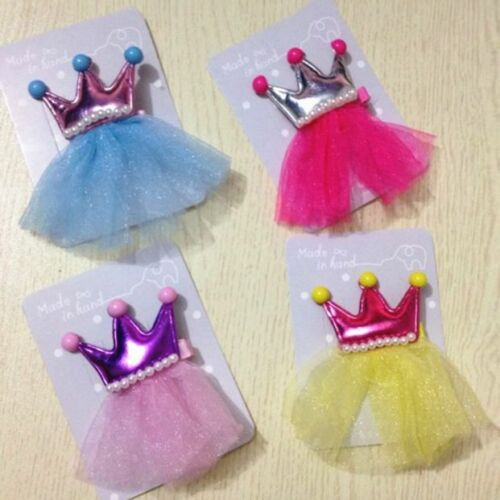 1 Pair Kids Baby Girls Grown Barrettes Hairpin Headdress Hair Clip Accessories