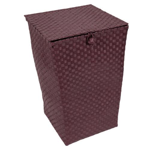 """Korb Wäschekorb mit Deckel /""""Venice/"""" Flechtkorb Aufbewahrungskorb Box Handmade"""