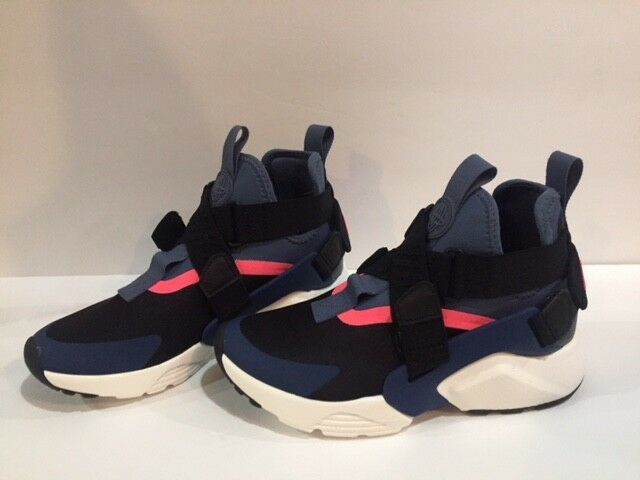 NIKE AIR HUARACHE CITY BLACK NAVY DIFFUSED blueE AH6787 002