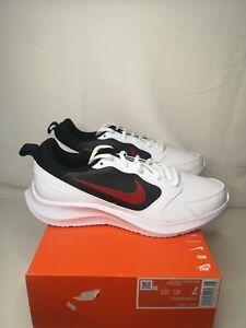 Nike Todos BQ3198 101 Men's UK Size 6 White University/Red Black EUR 40 BNIB