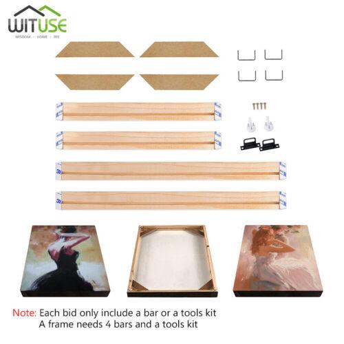 Canvas Wood Bar Frame Stretcher Strip 20 25 30 35 40 45 50 55 60 Centimeters 80