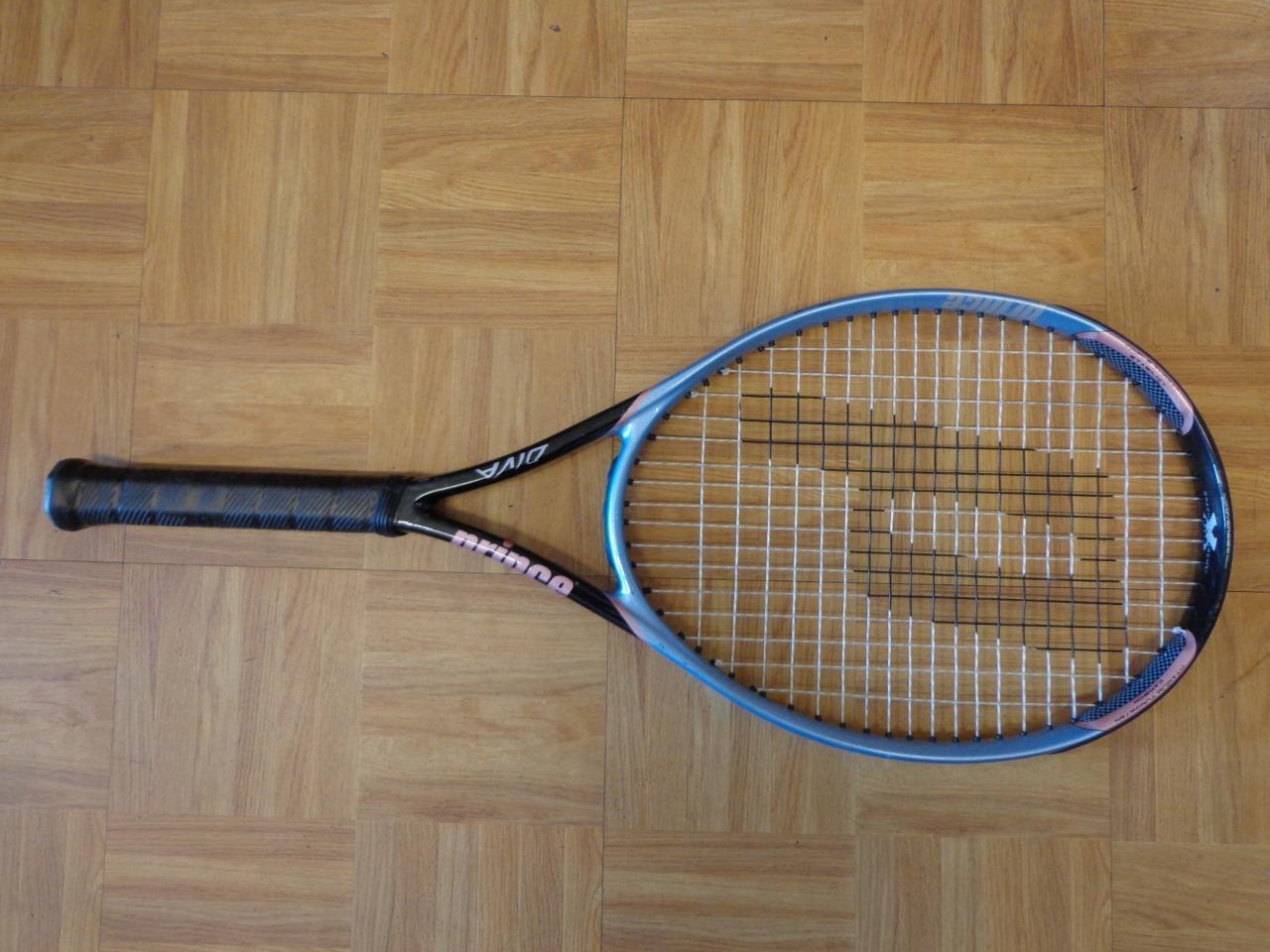 Prince Diva 110 Head 4 3 8 grip raquette de tennis