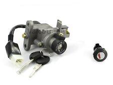 Lockset to fit Peugeot Vivacity 3, Keys & Barrel. Ignition Lock Set 2009 onwards