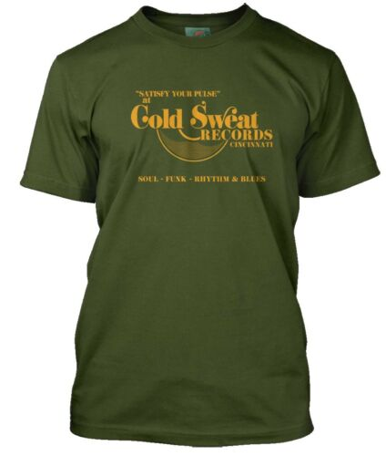 JAMES BROWN inspired COLD SWEAT Record Store Men/'s T-Shirt