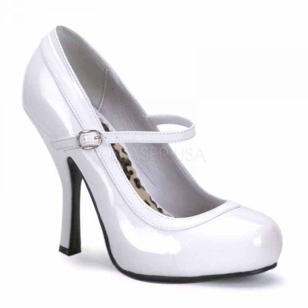 ROTuziert  Funtasma Damen High-Heels Riemchenpumps Pretty-50 weiß Lack Lack Lack Gr 36 d9137a