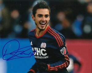 100% Vrai Diego Fagundez Signé (new England Revoultion) Mls Football 8x10 Photo W / Coa #2 Emballage Fort