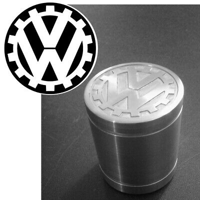 VW KDF Cog flag logo aluminum weighted shift knob SMALL Made in the USA