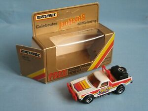 Matchbox Ruff Trek Holden Pick Up 217 Gold Box 75mm Box MB