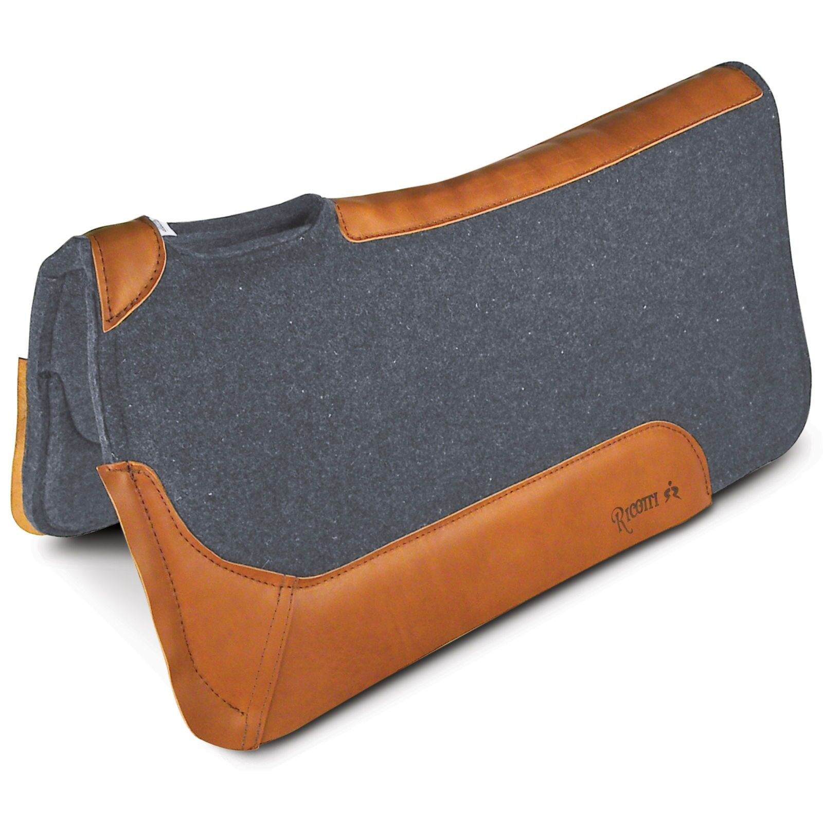 Ricotti Square Wool Blend Western Saddle Pad with Ultracell Foam Insert