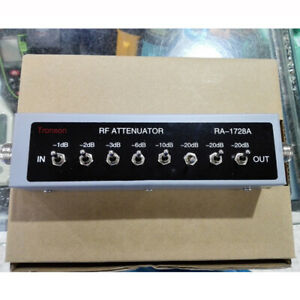0-82DB-VARIABLE-STEP-ATTENUATOR-50-OHM-For-Ham-Radio-Transmitter-Attenuator
