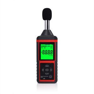 Digital Lautstärke Schall Schallpegel Messgerät Mikrofon Lärm Dezibel Werkzeug Ebay