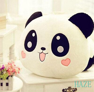 """New Plush Doll Toy Stuffed Animal Panda Pillow Bolster Gift 8"""" WO"""